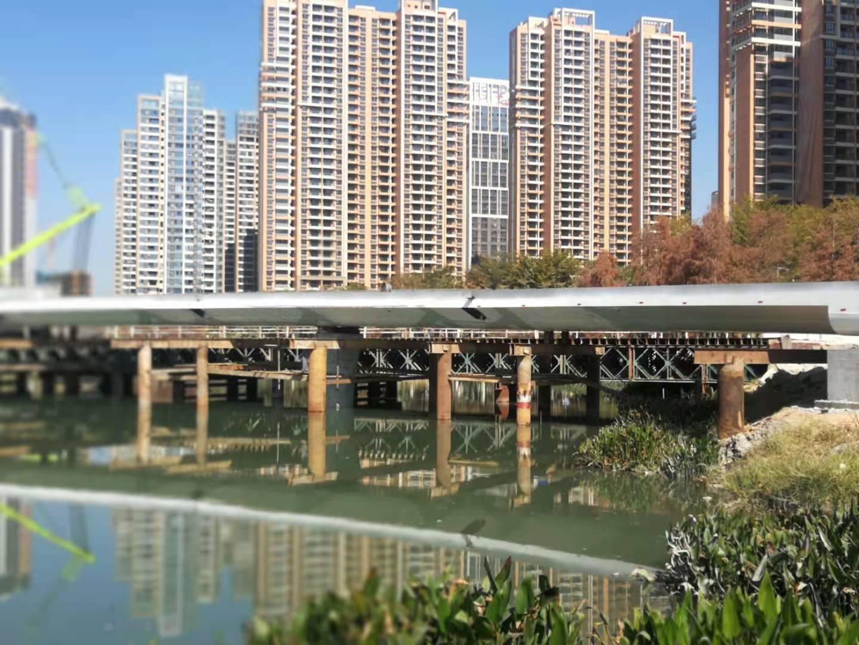<span>角美花海景观桥<span>-施工中</span></span>